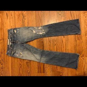Distressed Hollister Boot cut Jeans - 3L